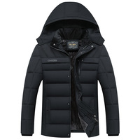 Parka Men Coats 2018 Winter Jacket Men Thicken Hooded Waterproof Outwear Warm Coat Fathers' Clothing Casual Men's Overcoat