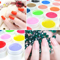 Professional Nail Art 36 Colors Pure Colors Pots Bling Gel Polish Cover UV Gel Nail Art Tips Nail Polish Extension Manicure
