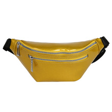Waist Fanny Pack Jelly Bag Shoulder Women Multi-functional Chest Female Leather Lady Crossbody Messenger