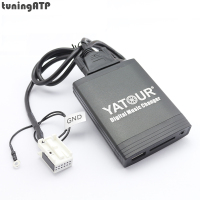 YATOUR Digital Music Changer AUX SD USB MP3 Adapter for SKODA Octavia / Fabia / Superb / Yeti / Roomster Radios: 12 Pin CDC Port