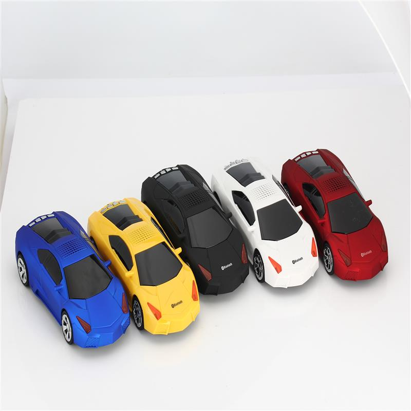 jkr Bluetooth Mini Speaker Car Model FM Radio Portable MP3 Music Player USB Wireless Subwoofer For iPhone Samsung Phone Computer