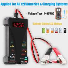 MOTOPOWER MP0514A 12V Digital Car Battery Tester with LCD and LED display(China)