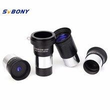 Cheap price SVBONY 1.25″ Plossl Eyepiece 4mm 10mm 25mm Multi Coated + Barlow Lens Astronomy Telescope Monocular Accessory Kit W2757