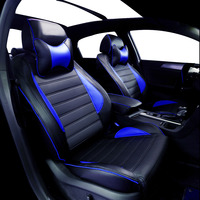 Yuzhe Leather Car Seat Cover For Skoda Octavia 2 A7 A5 Fabia Superb Rapid Yeti Spaceback