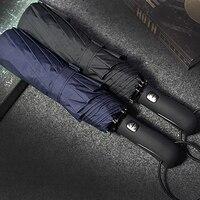 JESSE KAMM 2017 New Big Strong Fashion Windproof Men Gentle Folding Compact Fully Automatic Rain High