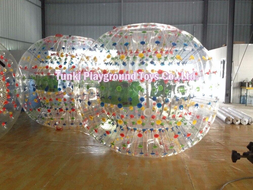 Diamètre 2.5 m aqua herbe marche zorb ball