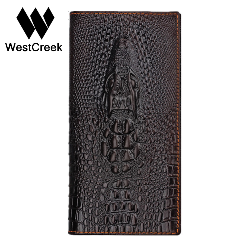 Brand Unique Design Crocodile Head Pattern Genuine Leather Men's Wallets High Quality by GMW007 brand unique design crocodile head pattern genuine leather men s wallets high quality by gmw007
