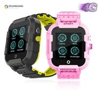 IPX7 Waterproof Smart 4G Remote Camera GPS WI FI Child Student Smartwatch SOS Video Call Monitor Tracker Location Phone Watch