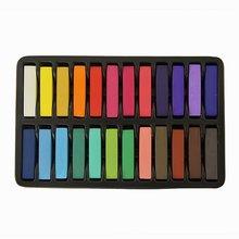 JFYB Hot Sale Non Toxic Hair Chalk Temporary Hair Dye Color s Soft Pastels Salon Set