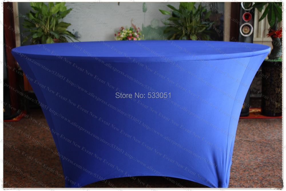 Royal Blue Spandex Table <font><b>Cover</b></font>/Lycra Tablecloth/<font><b>Chair</b></font> Sash/<font><b>Chair</b></font> <font><b>Cover</b></font>/Napkins For Wedding Party Hotel Banquet Home Decorations