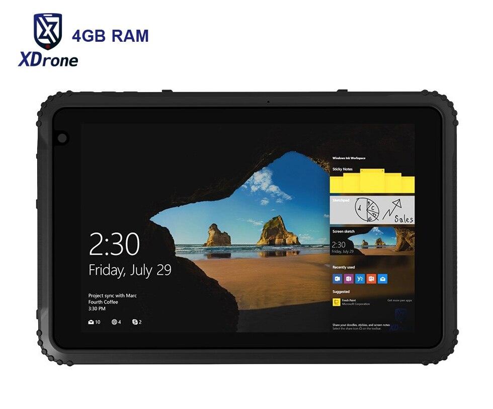 Original K88H Windows Tablet PC 4 GB RAM IP67 A Prueba de agua A Prueba de Golpes Resistente delgado 8 Pulgadas Quad Core OTG 4G LTE Z8350 GNSS Ublox GPS