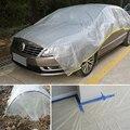 Auto Staub Tuch Einweg Staub Abdeckung Wasserdicht Einfache Bequem Transparente Kunststoff Möbel Abdeckung Tuch