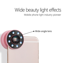 Phone Selfie LED Light Lens