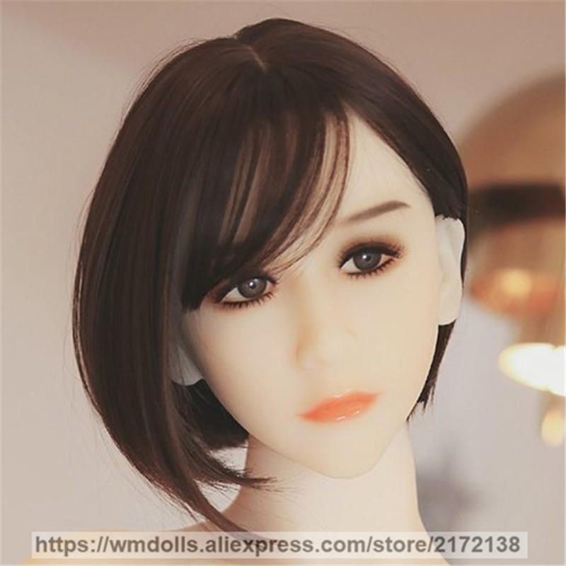 WMDOLL Real Oral Sex Doll Head Realistic Silicone Love Doll Heads fit 145-172cm Adult Toys TPE Sex Doll WMDOLL Real Oral Sex Doll Head Realistic Silicone Love Doll Heads fit 145-172cm Adult Toys TPE Sex Doll