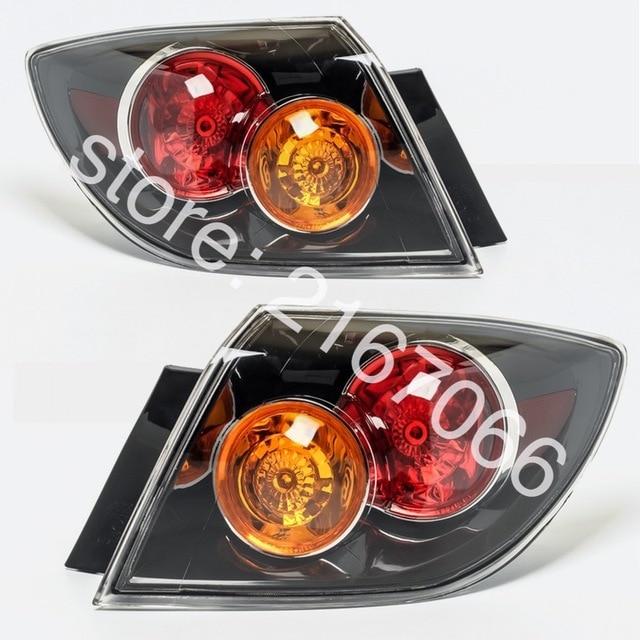 2pcs Tail Lights Fits Mazda 3 Axela 2003 2004 2005 2006 5 Doors Rear Lamp Pair Hatchback Only