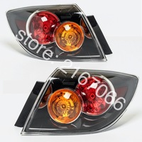 2pcs Tail Lights fits MAZDA 3 / AXELA 2003 2004 2005 2006 5 Doors Rear Lamp Pair Hatchback Only