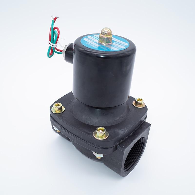 2 way 2w series Air gas water solenoid valve 1 1 2 2 inch 220V AC