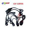 Quality A+ cdp cables OBD OBD2 full set 8 car cables diagnostic Tool for cdp Pro for cars & trucks car diagnostic cable