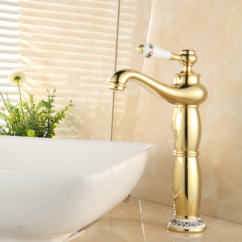 New Brand Quality Electroplated Tall Magic Lamp Basin