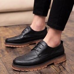 LettBao/Новая модная мужская обувь; роскошные классические мужские кожаные туфли; мужские оксфорды; Дизайнерские Мужские модельные туфли;