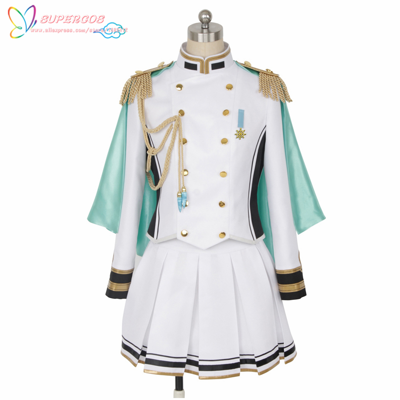 The Idol Master Yumi Aiba Coat Uniform Suit Cosplay Costume ,Perfect Custom For you!