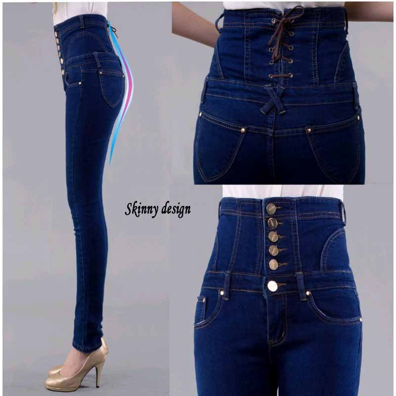 Aliexpress.com : Buy S XXXXXXL big size High waist Jeans women ...