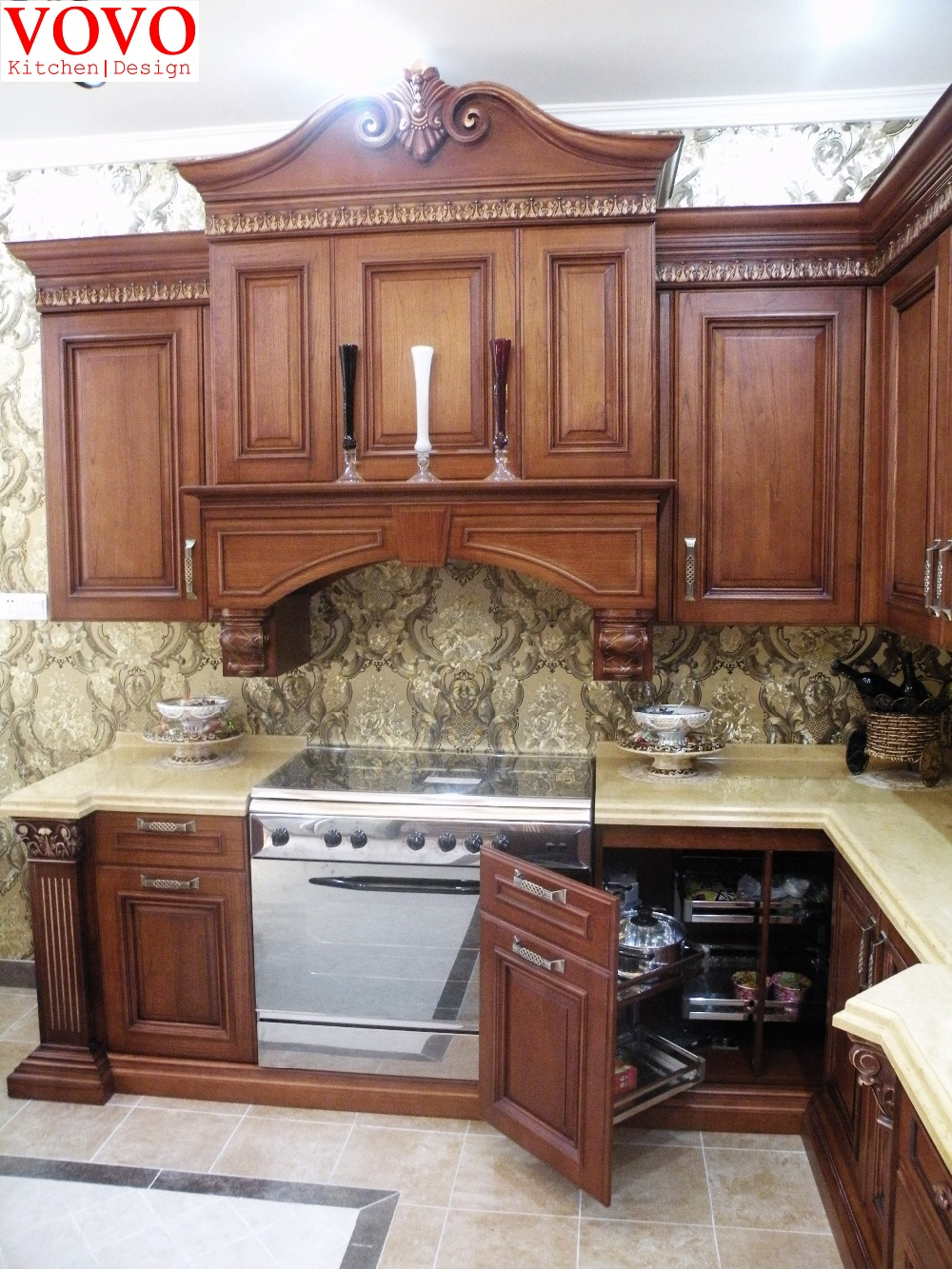 Factory Direct Sale Classic Kitchen Furniture In Kitchen Cabinets