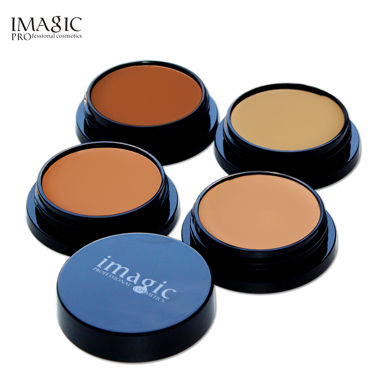 Pro Foundation Makeup Full Coverage Contour Face Concealer Base Primer Hide Blemish Oil-Control Brand Bronzer Concealer Creamy