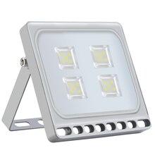 Ультратонкий 20 Вт Светодиодный прожектор для наружного освещения 110 В 220 в холодный белый водонепроницаемый IP65