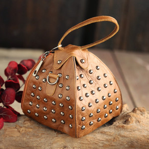 Tayunxing воловья кожа заклепки ретро сумка кожаная индивидуальная сумка женская через плечо женская сумка с заклепкой 1611