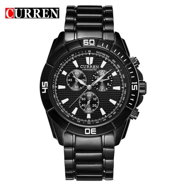 aliexpress com buy curren sport watch men accurate travel time curren sport watch men accurate travel time men business water resistant quartz watch fashion casual brand