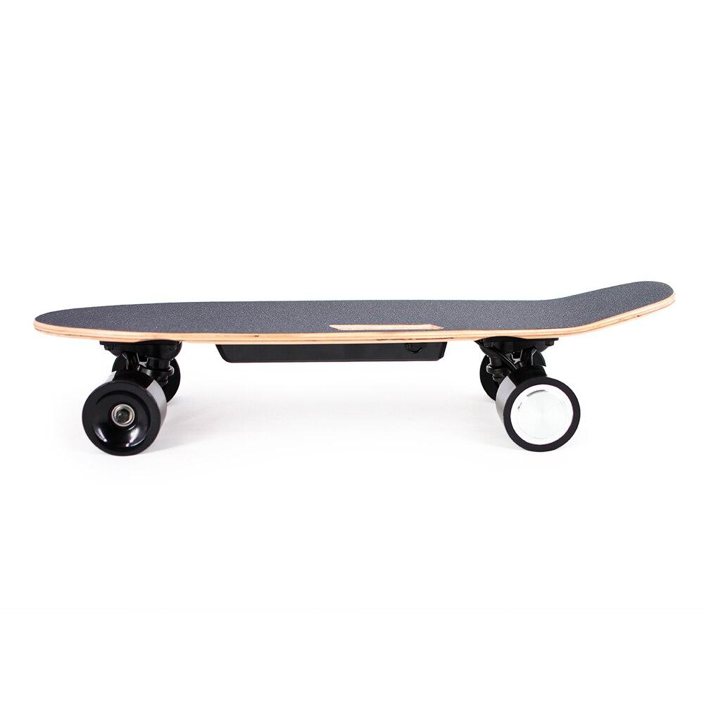 2019 Nouvelle Arrivée Électrique Planches À Roulettes Portable Électrique Skate Board avec Sans Fil De Poche Télécommande pour Adultes et Adolescents - 3