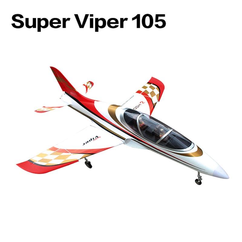 105mm EDF SuperViper 105 RC JET Airplane EDF Effendi Gold Coating RC Fixed Wing Airplane PNP/ARF/KIT Wingspan 1500mm 50mm edf a10 warthog rc airplane model kit w 870mm wing span
