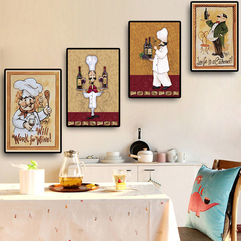 Картинки в рамку для кухни