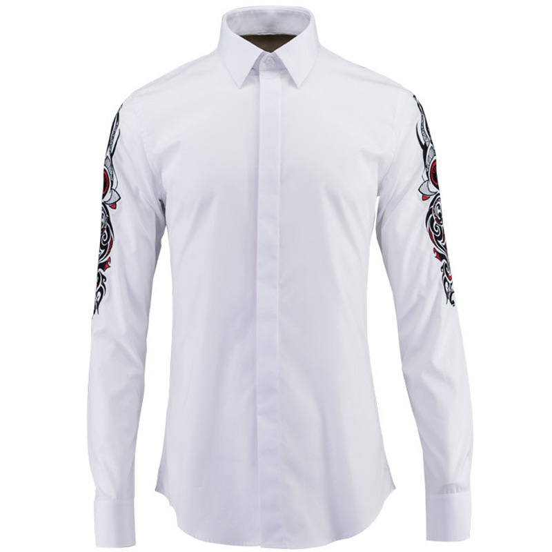 Popular Designer Dress Shirts Men-Buy Cheap Designer Dress Shirts ...