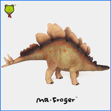 Mr.Froger Dinosaur Wuerhosaurus Kentrosaurus Jurassic Toy Children Animal Model Science Education Solid plastic PVC Collection