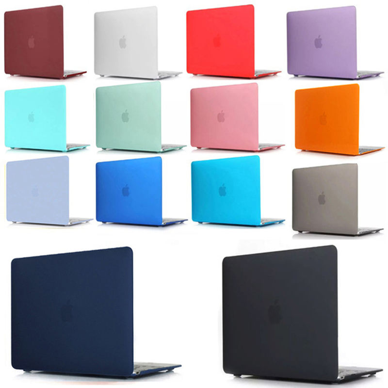 New Crystal Matte Frosted Hard Case Cover Sleeve For MacBook Air 11 A1465 / Air 13 Inch A1466 Pro 13.3 15 A1278 Retina 13 A1502