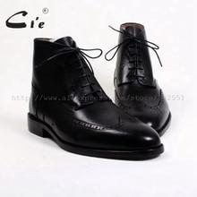 Cie/зимние однотонные ботинки из телячьей кожи с круглым носком, на шнуровке, с подкладкой из шерсти; натуральная телячья кожа; дышащая подошва; A84