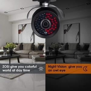 Image 5 - ZOSI HD 960H 1000TVL CMOS 42 pièces IR Leds haute résolution jour/nuit étanche caméra de vidéosurveillance intérieure/extérieure avec support