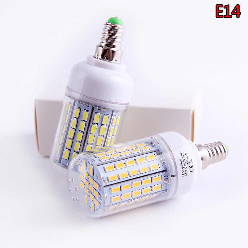 SMD 5730 E27 E14 IC Smart LED Lamp 220V 230V 240V Energy Saving LED Lights Corn Led Bulb Christmas Chandelier For Home Lighting