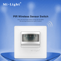 Mi. light 220 V pir wireless sensor switch control system 8 Mt schaltabstand