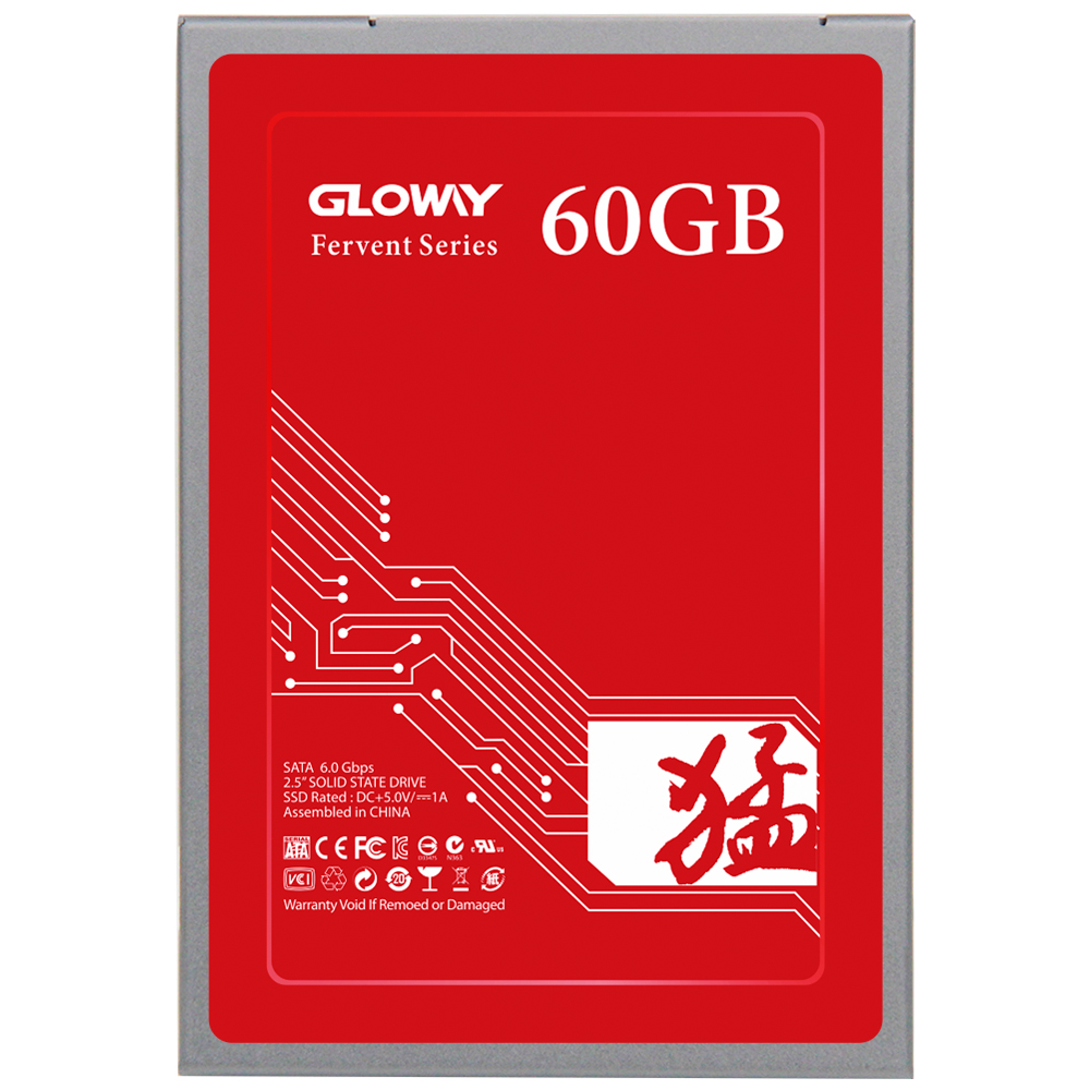 Gloway Promotion solid state disk 2.5 ssd 60gb sata SSD / 60 gb SSD for desktop/laptop computer internal ssd 60g free shipping!