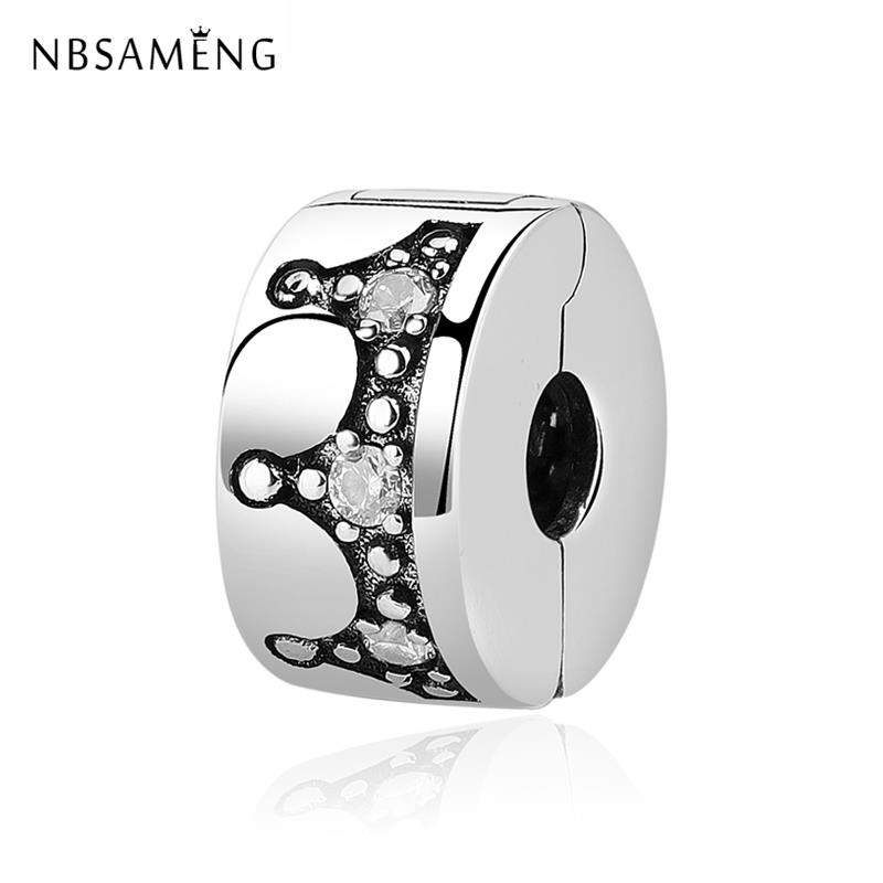ICYROSE Solid 925 Sterling Silver Black Background with White Arrows Glass Charm Bead for European Snake Chain Bracelets