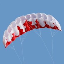 Радужный двойной линии кайтсерфинга трюк парашют мягкий параплан сёрфинга воздушный змей Спорт на открытом воздухе пляжный Летающий воздушный змей