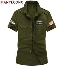 verano camisa MANTLCONX de