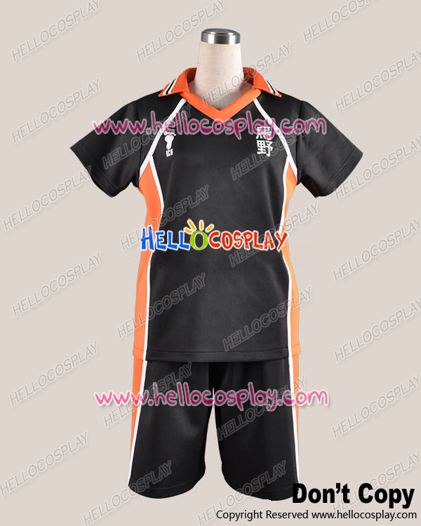Haikyu Cosplay Shoyo Hinata Uniform Costume Without Number Ver H008