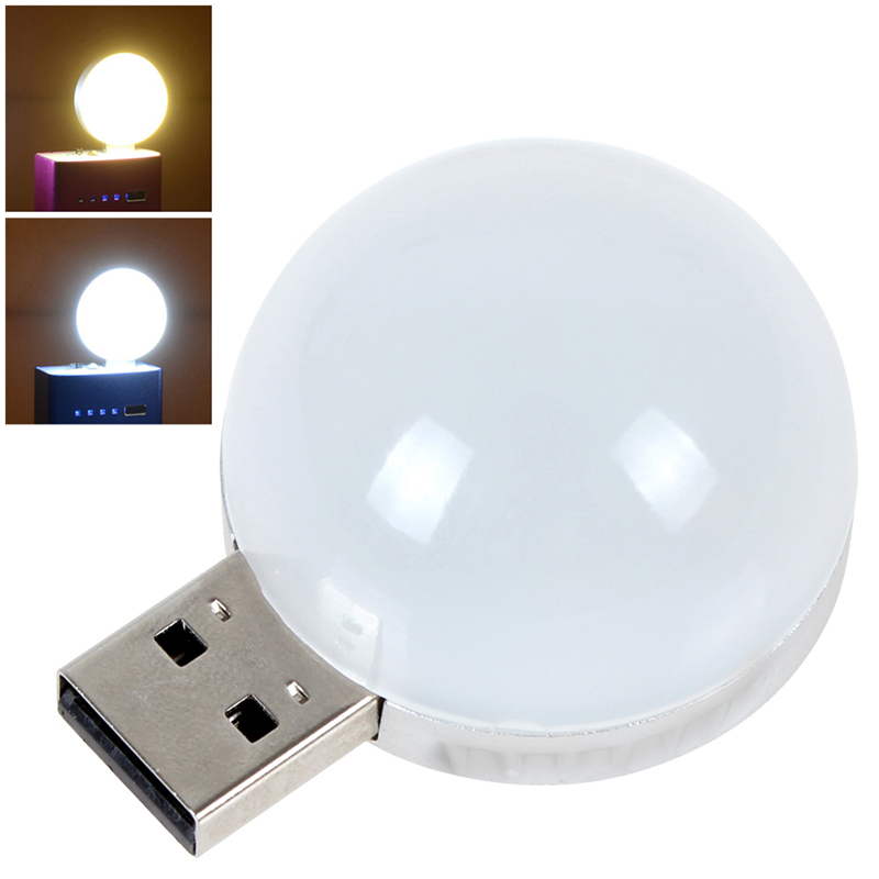 Flexible Portable font b USB b font LED Lamp For Power bank Computer Notebook Mini font