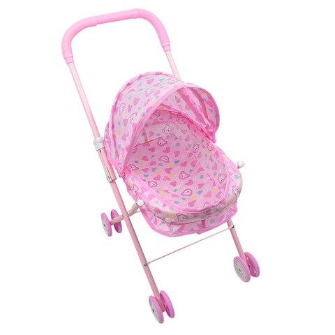 infantil rosa brinquedos do jogo do bebe carrinho de crianca carrinho carrinho de rodas motrizes
