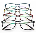 Luz de tungstênio titanium aço plástico armação de óculos senhora alta arquivos vai imagem miopia quadro maré óculos oculista
