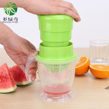 DUOLVQI Household Multifunctional Simple Manual Juicer Baby Juice Machine Baby Mini Small Fruit Juicer